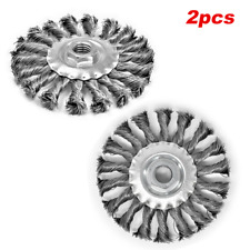 Threaded Knotted Wire Wheel Brush 5