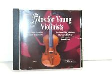 Alfred Solos for Young Violinists Vol. 3 (Cd) #R5909