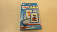 New Thomas & Friends 1-2-3 Learning Cards - 36 Flash Cards
