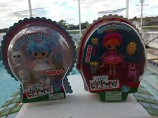 BNIB mini Lalaloopsy Dolls Lot of 2