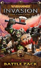 Warhammer Invasion The Card Game Rising Dawn Battle Pack OOP LCG