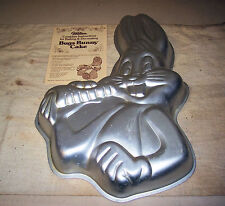 Vintage 1978 Wilton Warner Bros BUGS BUNNY Cake Pan Mold Instructions 502-7598
