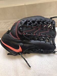 "Nike MVP-1200 12"" Baseball Softball Glove Right Hand Throw"