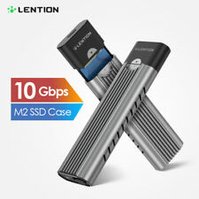 LENTION USB 3.1 Type C to M.2 SSD NVME Enclosure Adapter Hard Drive 2280 10Gbps
