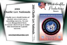 2001 Charlie Lee Nationals Karate Tournament Dvd