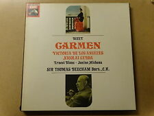 "3 X LP BOX 12"" / BIZET CARMEN, SIR THOMAS BEECHAM: VICTORIA DE LOS ANGELES"