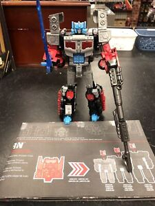 Transformers Chaos On Velocitron Laser Optimus Prime Complete