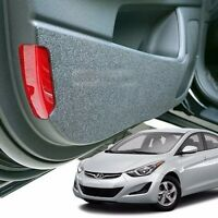 Felt Inside Door Shield Cover Scratch Kick Protector for HYUNDAI 2011-16 Elantra