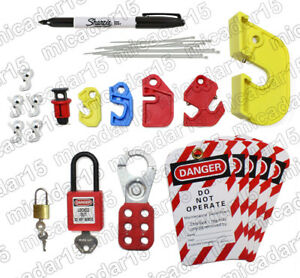 Circuit Breaker Lockout Tagout Kit LOTO - Lock out Tag out Kit
