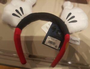 Serre-tête / Headband MK / Mickey HANDS / Mains Disneyland Paris