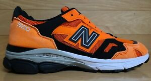 New Balance 920 Size 8.5 Orange Black Made In England Mens Shoe Sneaker M920NEO