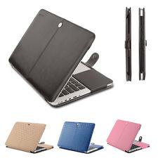 Mosiso PU Leather Case For Macbook Pro Retina 13.3 PU Folio Stand Cover Case