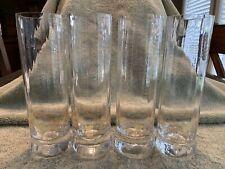 Glassware Set Of 4 Mojito Glasses. Heavy Glass. Great Condition.