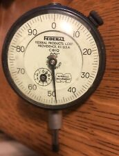 "Federal Dial Indicator No. C81Q  0.001""  Full Jeweled Miracle Movement Vintage"