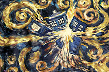 Doctor Who Exploding Tardis Dr Who TV Sci Fi Maxi Poster Print 61x91.5cm   24x36