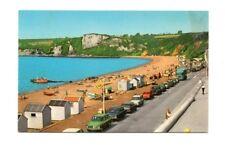 Devon - Seaton, Promnade and Beach - Vintage Postcard
