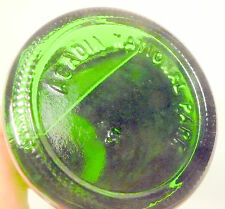vintage ACL Soda POP Bottle:  full 16 oz  SPRITE salutes ARCADIA NATIONAL PARK