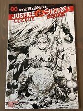 Justice League Vs. Suicide Squad #1 Unknown Comics Kirkham Sketch Exclusive