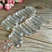 Natural Tibet Clear Crystal White Quartz Point Terminated Wand Specimen Mini 50g
