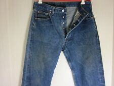 Vintage Levis 501xx  Made in USA  Button Fly Straight Leg 32 x 29 SHRINK TO FIT