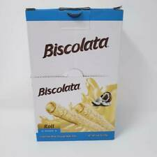 Biscolata Nirvana Rolled Wafers with Premium Chocolate Cream Filled - 12 Pack