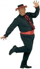 XL Flamenco Shirt With Sash Costume Extra Large for Spanish Spain Fancy Dress -