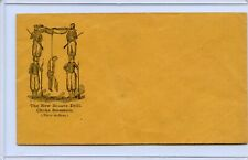 Original Civil War envelope the New Zouave drill Choke Secession Hanging