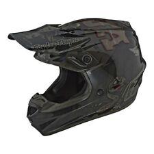 Troy Lee Designs SE4 Polyacrylite Baja MX Offroad Helmet Black SM