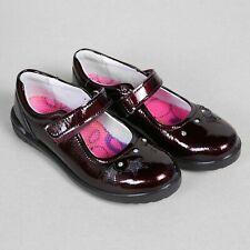 Ricosta Lyla Kids Girls Purple Patent Leather Mary Jane Shoes (8626000/373)