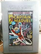 MARVEL MASTERWORKS: CAPTAIN MARVEL Vol. 8 by Moench & Starlin (HC) MARVEL