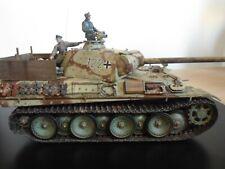 Construido y pintado Infrarrojo Panther G PZ DIV muncheberg abril 1945 1/35 escala.