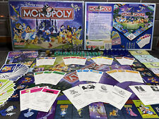Disney Monopoly Collectors Edition - Complete - Great Family Game