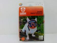 Canine Friendly Short Snout Dog Muzzles Breathable Mesh Dog Muzzle with Eyehole