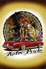 """""""Aztec Pride"""" with Lowrider Car Eagle Latino Mexican Culture Tribal Art Poster"""
