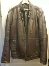 Hugo Boss Lamb Leather Jacket (MRSP $1200)