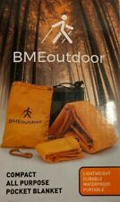 All Purpose Compact Pocket Blanket waterproof for Hiking and Traveling w/bag.