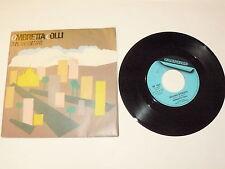 """OMBRETTA COLLI """"MILANO D'ESTATE"""" disco 45giri FONIT CETRA Italy 1984 GABER"""