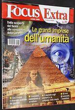 """Focus Extra n.39 """"Le Grandi Imprese dell'Umanità"""" dell'Estate 2009"""