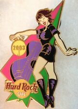 Hard Rock Cafe GUANGZHOU 2003 GIRL of ROCK Series PIN GOR #2 Black Uniform 18555