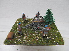 MES-39589 1:72 Artillerie-Stellung Minidiorama bemalt,