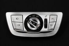 BMW G11 G12 Lichtschalter Schalter Bedieneinheit Licht Alu gebürstet 6841891