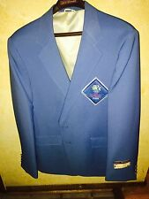 New Men's 1984 LA Olympic Official Staff Uniform Blue Blazer Jacket LEVI'S 44l