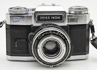 Zeiss Ikon Contaflex Super BC Kamera - Zeiss Tessar 2.8/50mm Synchro Compur-X