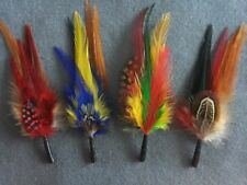 Feather Stetson & Resistol Cowboy Fedora Trilby hat accessories Women Men Unisex