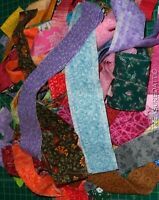 Quilting Fabric Lot Random Assorted Strips by the POUND Great 100% Cotton Sewing