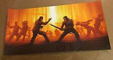 Raid 2 Dan Mumford Screen Print Limited Edition 100 Approx. 12 x 24 Inches Rare*