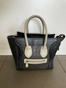 Celine Micro Luggage Black