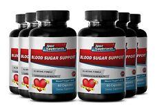 Heart Health - Blood Sugar Support 620mg - Prevent Health Complications Pills 6B
