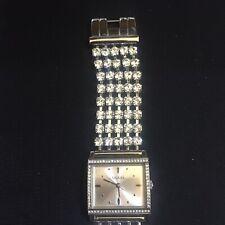 Guess Watch Rhinestone Bracelet Quartz