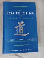 Laozi Tao Te Ching on the Art of Harmony - Silk Hardcover - NEW